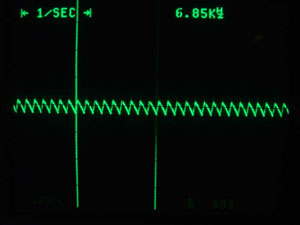 Waveform after modification