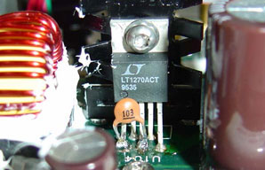 Added .01 uF capacitor